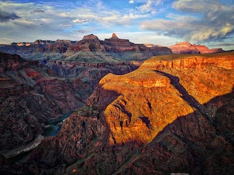 Free stock photo of landscape, sunset, landmark, water
