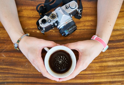 Free stock photo of food, hands, woman, caffeine
