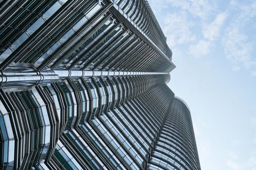 Low Angle Photography of High-rise Buildings