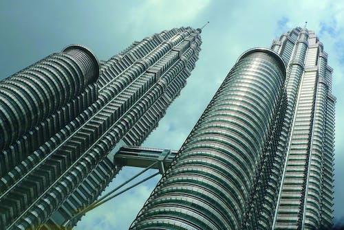 Δωρεάν στοκ φωτογραφιών με αρχιτεκτονική, αστικός, δίδυμοι πύργοι Πετρόνας, κτήρια