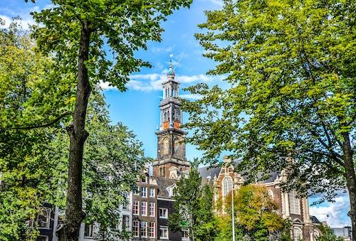 Безкоштовне стокове фото на тему «Амстердам, архітектура, блакитне небо, будівлі»