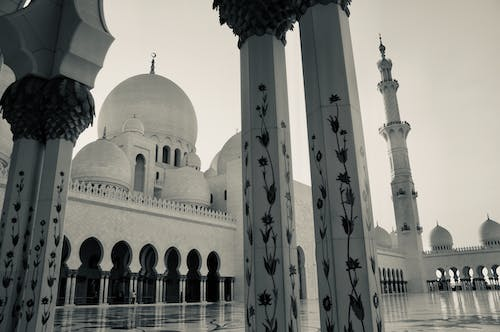 Free stock photo of arabic, mosque, sheikh zayed mosque