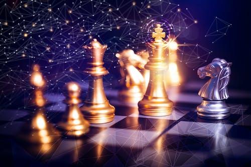 Fotos de stock gratuitas de administración, ajedrez, batalla, blanco