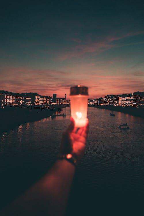 Free stock photo of alba, candela, città