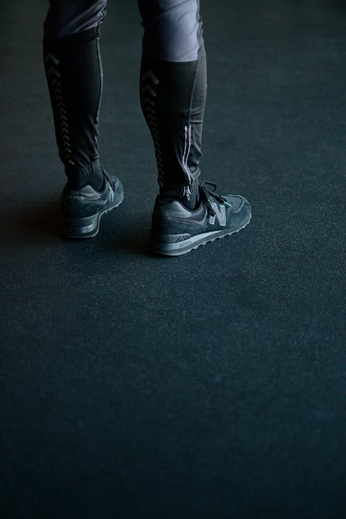 Person in Sneakers
