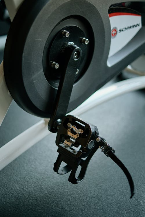 Close up of an Exercise Bike