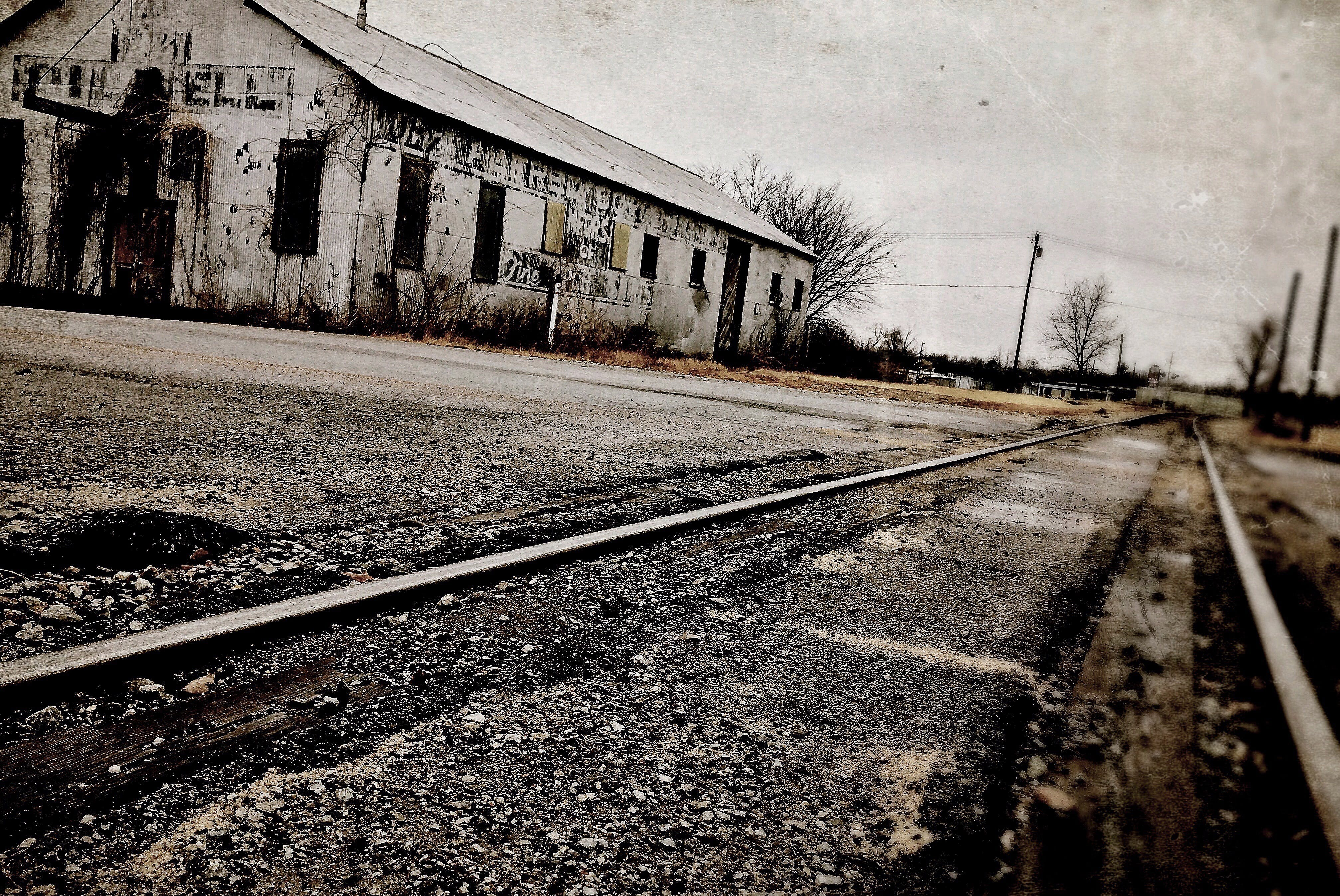 Empty Paved Road