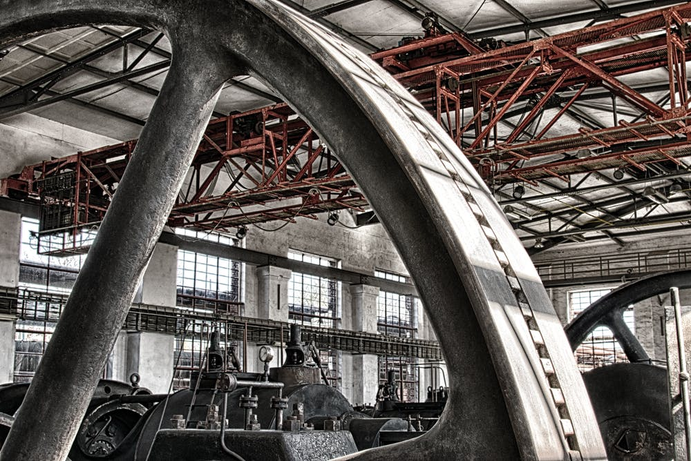 A huge machine. | Photo: Pexels