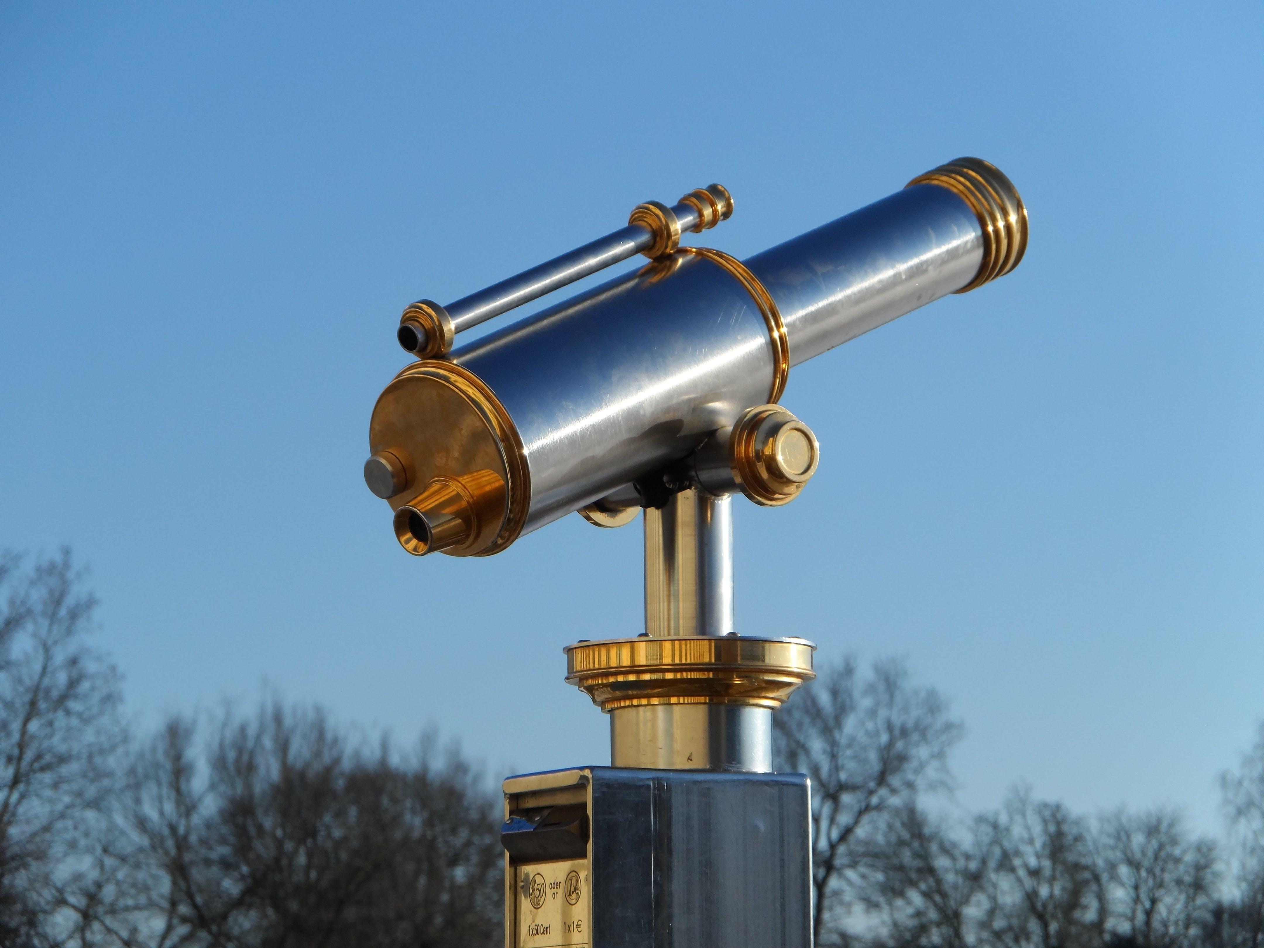 Kostenloses Stock Foto zu himmel, fernglas, stehlen, gerät