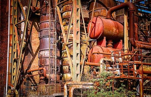 Darmowe zdjęcie z galerii z budowa, chemiczny, ciężki, maszyneria