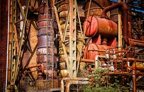 construction, industry, metal