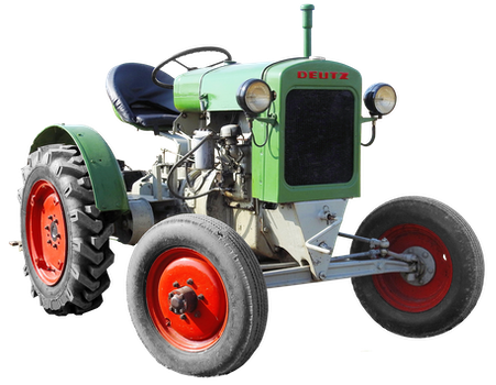 Free stock photo of agriculture, tractor, old, oldtimer