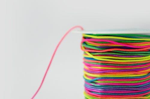 끈, 다채로운, 밝은, 색깔의 무료 스톡 사진