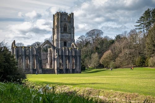 Foto profissional grátis de abadia das fontes, abandonado, admiração