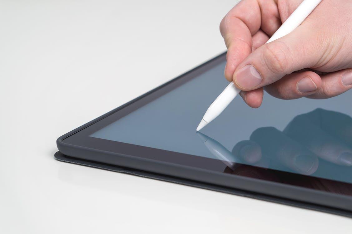 iPad, การติดต่อ, การวาดภาพ