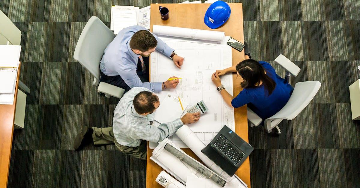 Free Stock Photo Of Adult Architect Blueprint