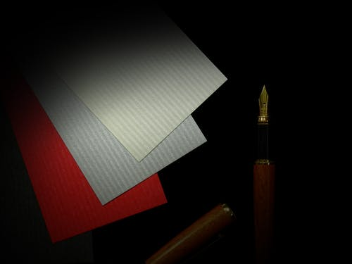 Red, Gray, and Red Papers