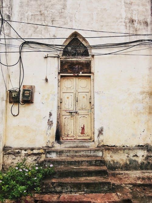 Foto profissional grátis de abandonado, acordo, aldeia, alojamento