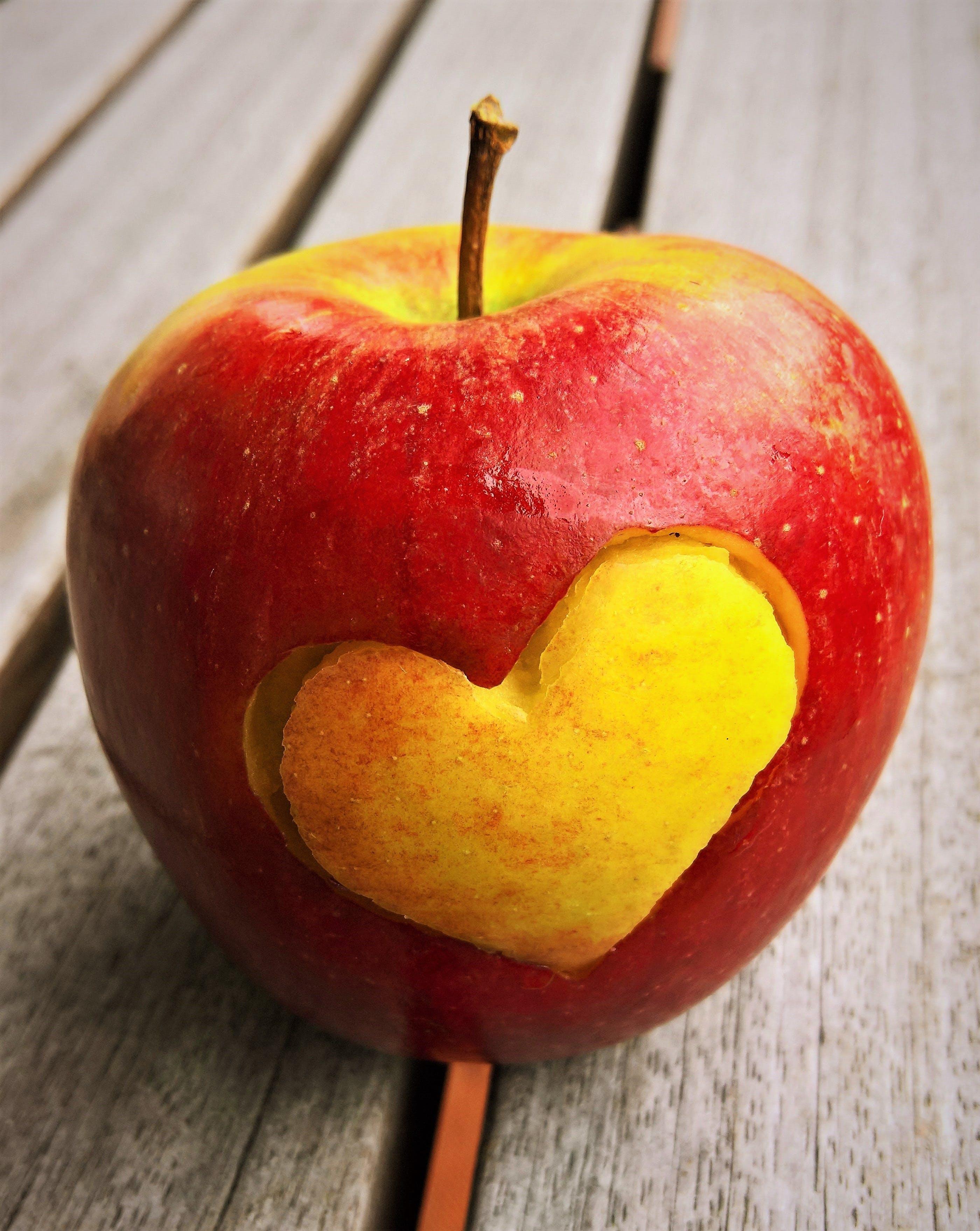 apfel, apple, diät