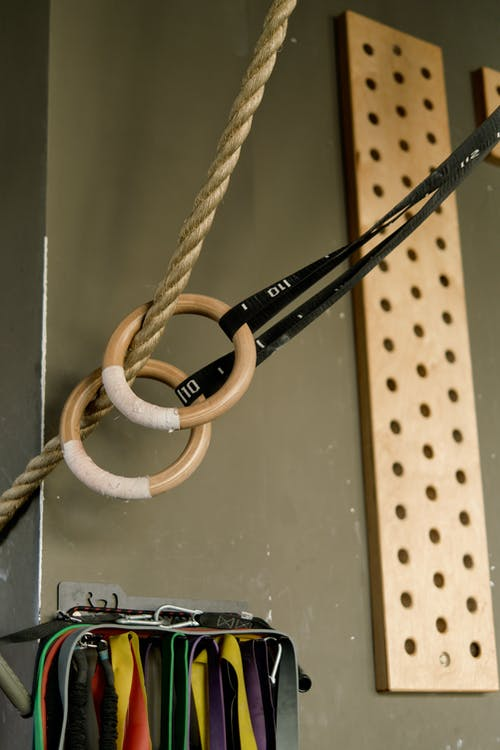 Rope With Gymnastic Rings