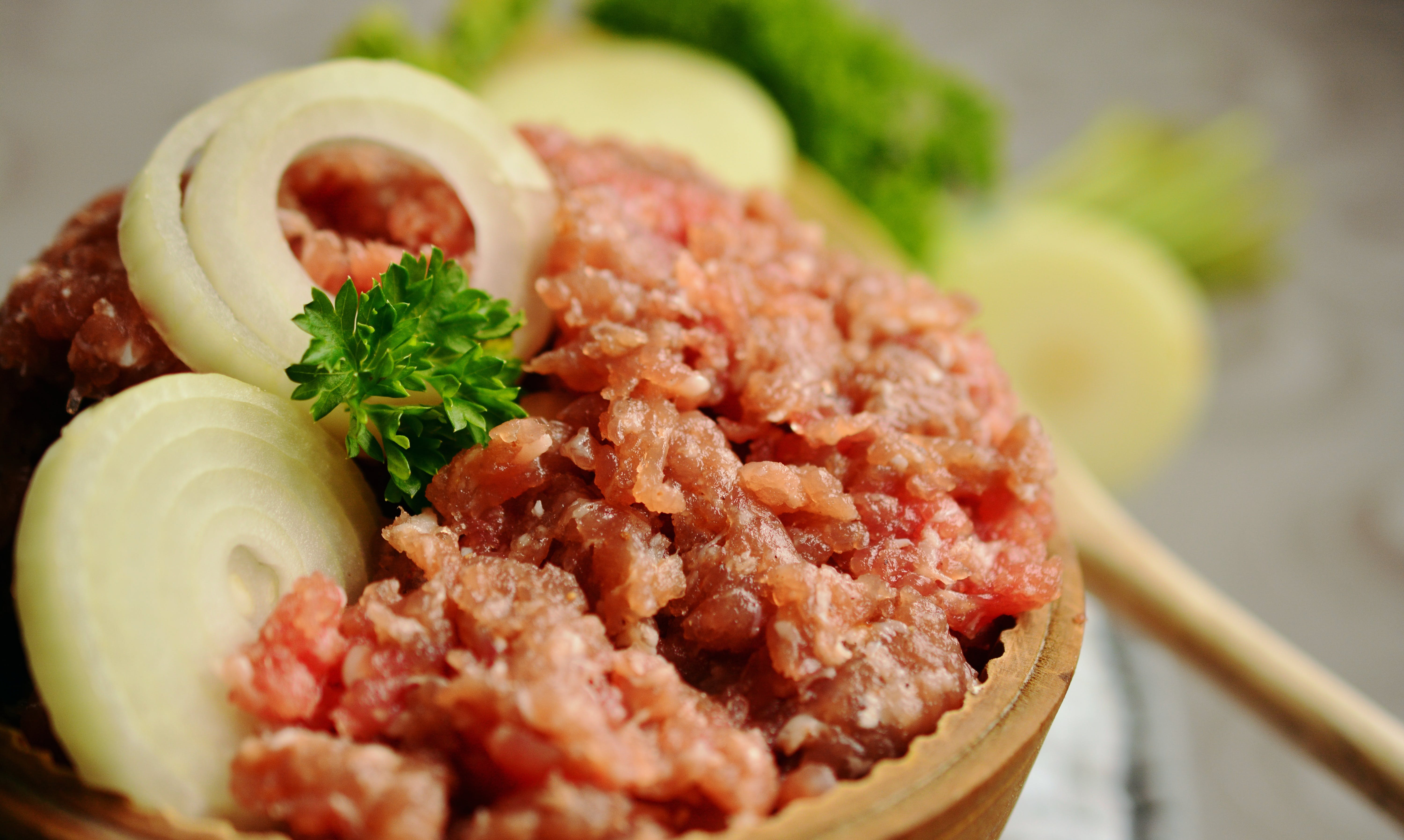 Ground Meat With Onions