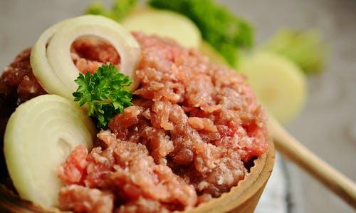 Foto d'estoc gratuïta de àpat, bol, carn, carn de porc