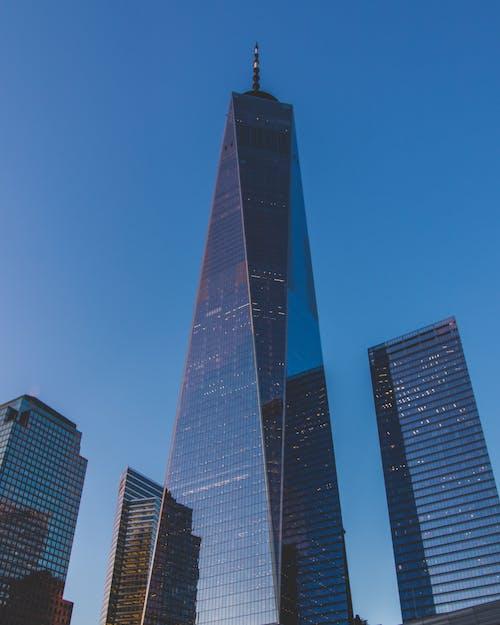 アメリカ, ガラスアイテム, コンテンポラリー, シティの無料の写真素材