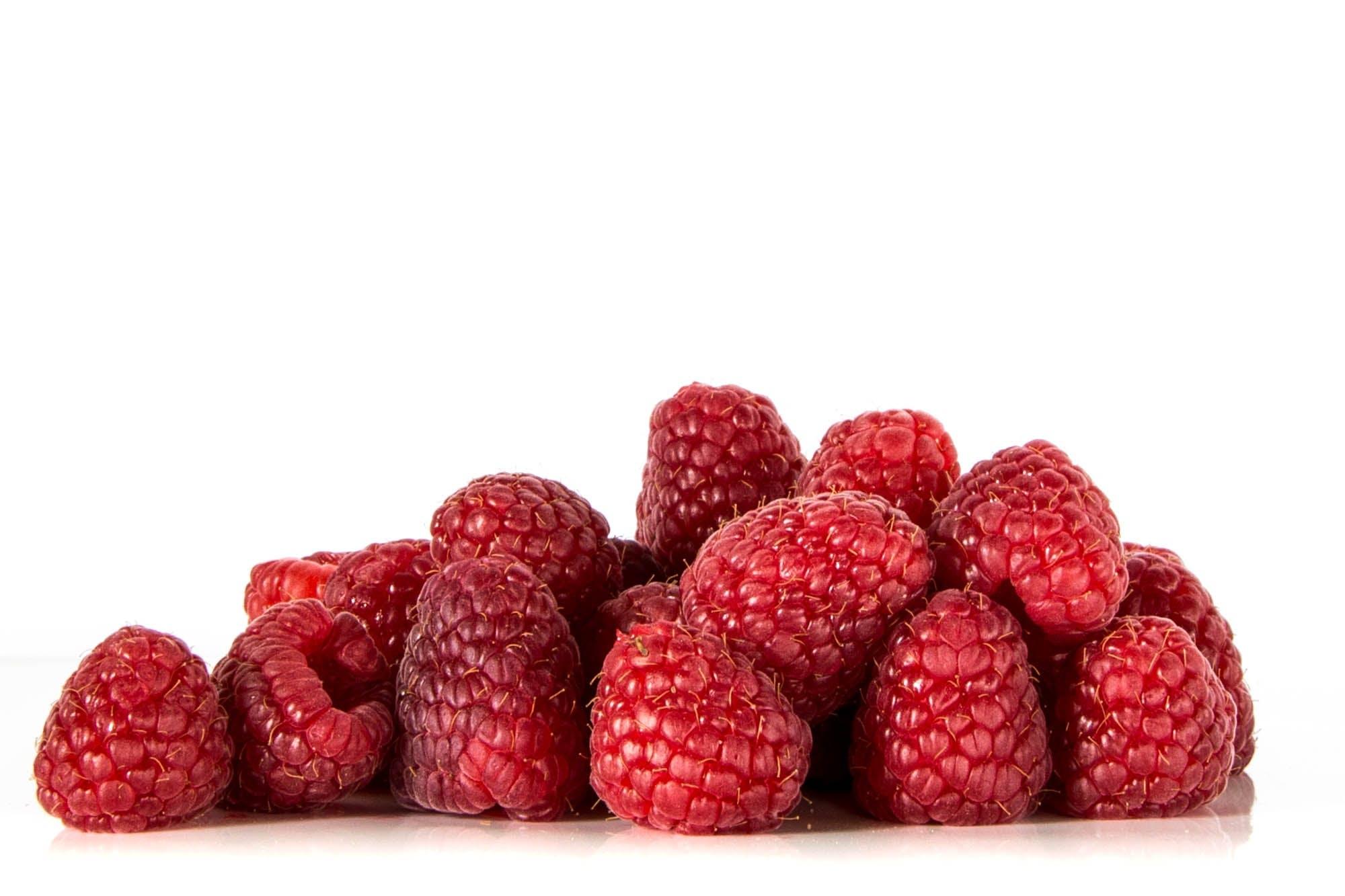 Free stock photo of food, raspberries, power, fruit