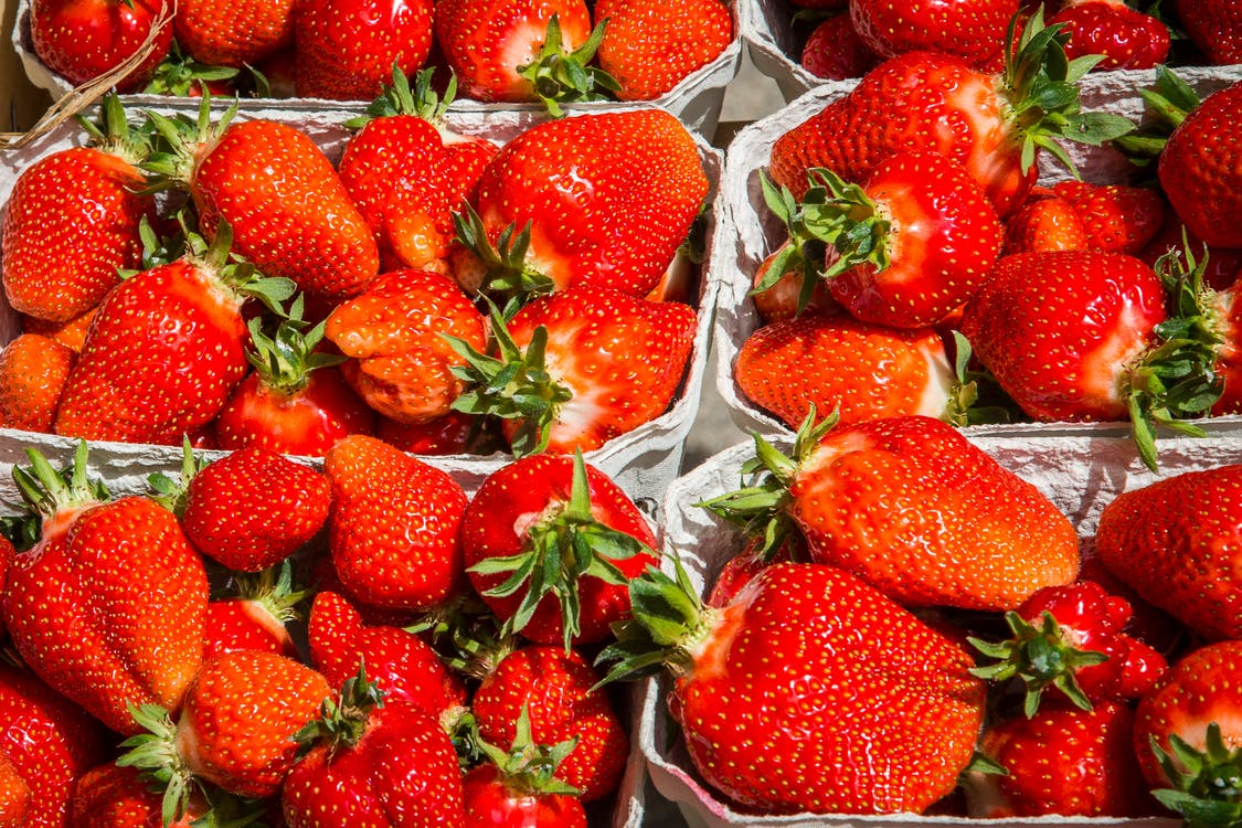 aardbeien, besjes, bessen