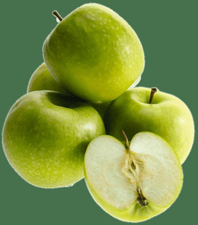 appels, close-up, detailopname