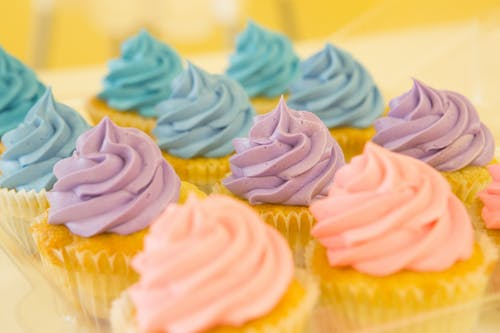 Gratis stockfoto met cakes, close-up, cupcakejes, eten