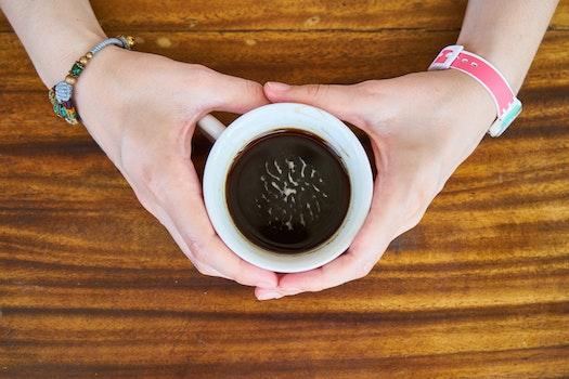Free stock photo of hands, coffee, mug, espresso