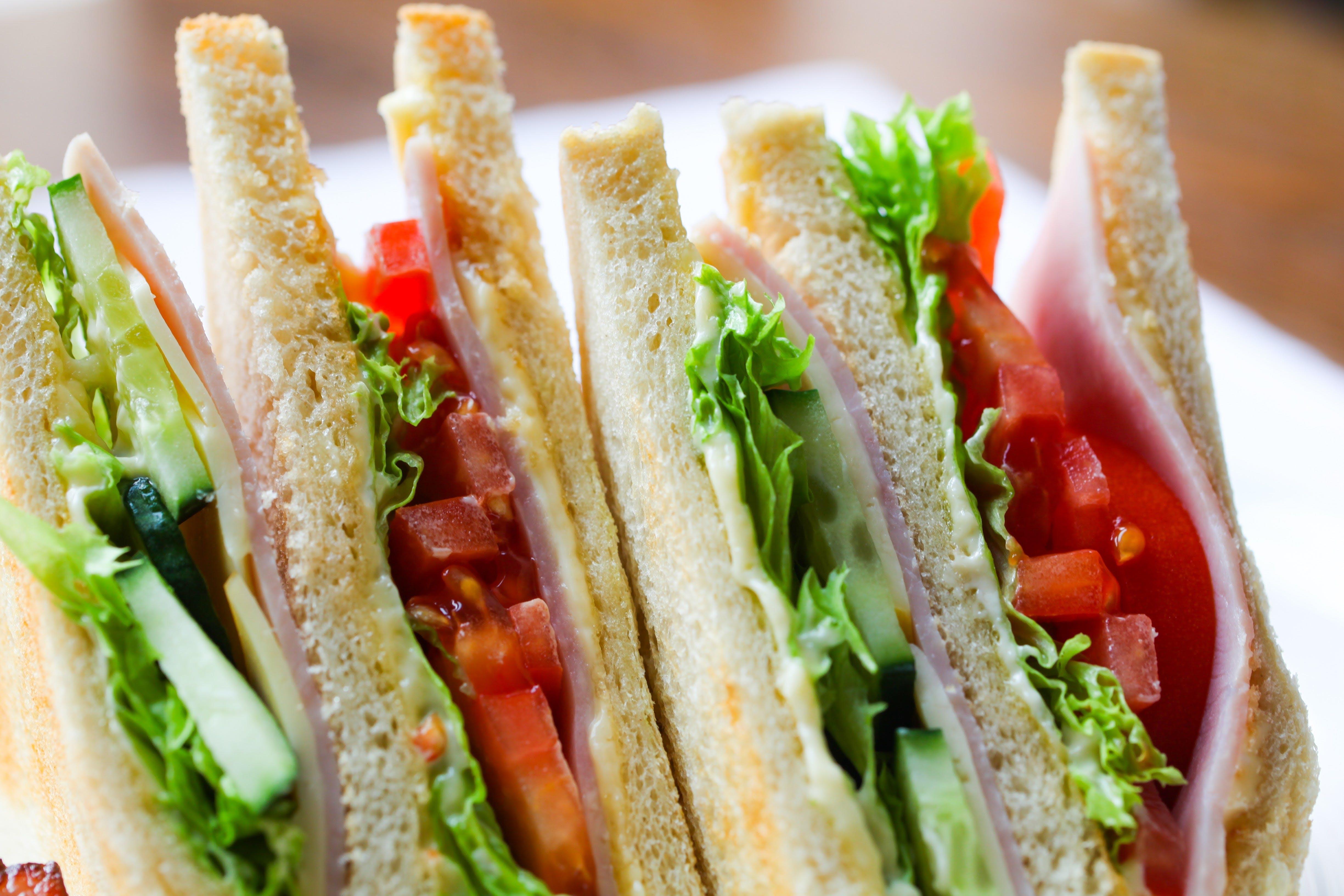 Free stock photo of food, salad, sandwich, toast