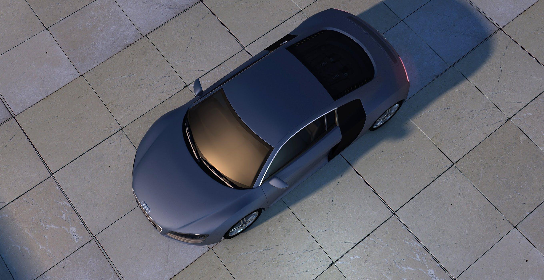 Free stock photo of design, shadow, sports car, audi