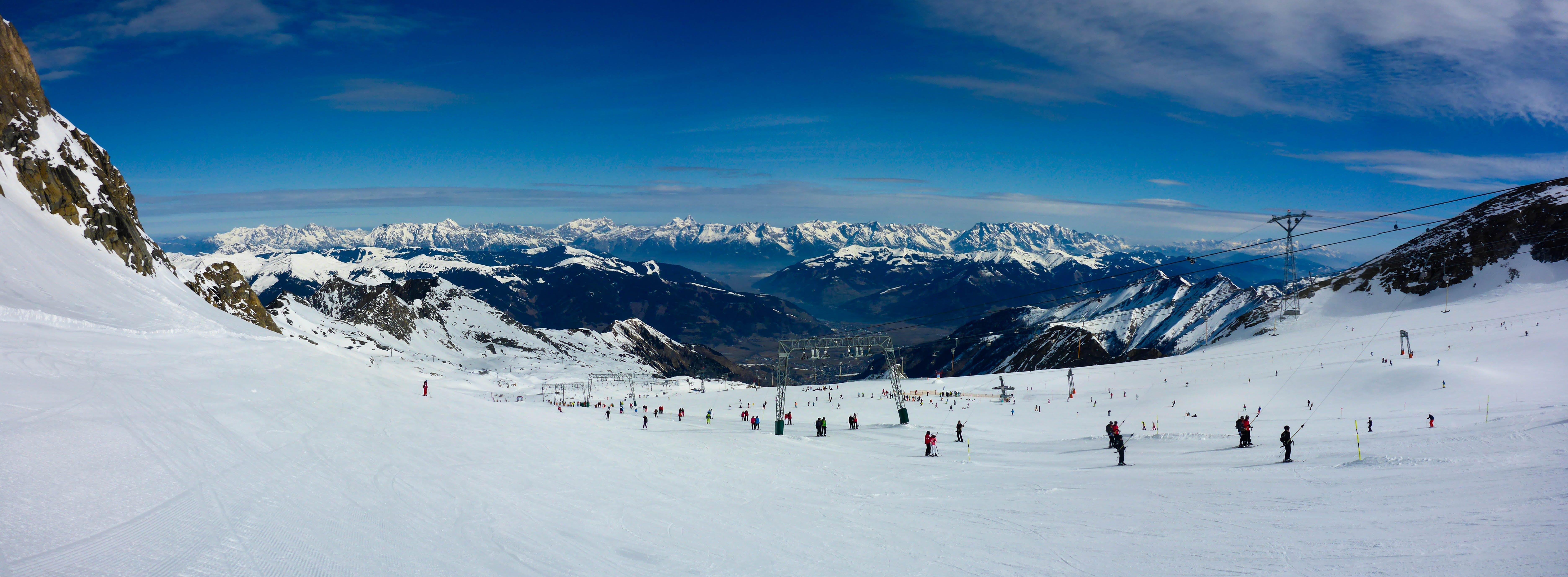 Snow-filled Summit