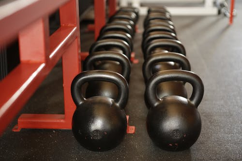 Black Kettle Bell Lot