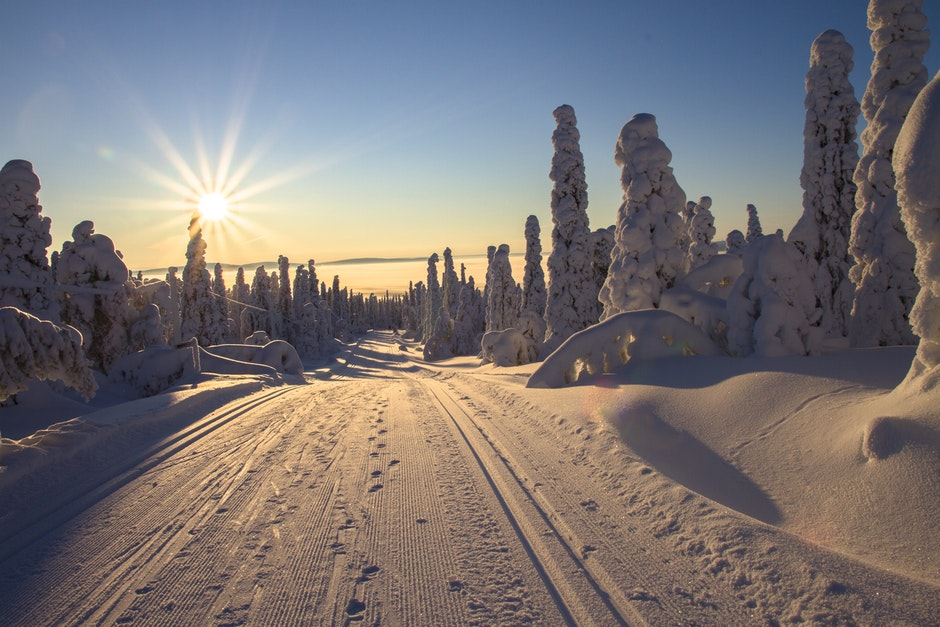 adventure, cold, cross country skiing