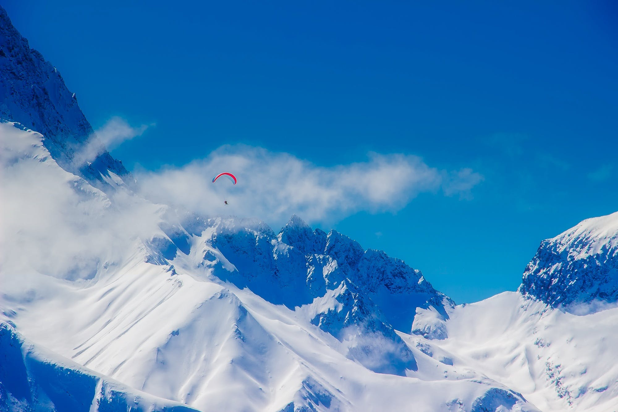 adventure, altitude, blue sky