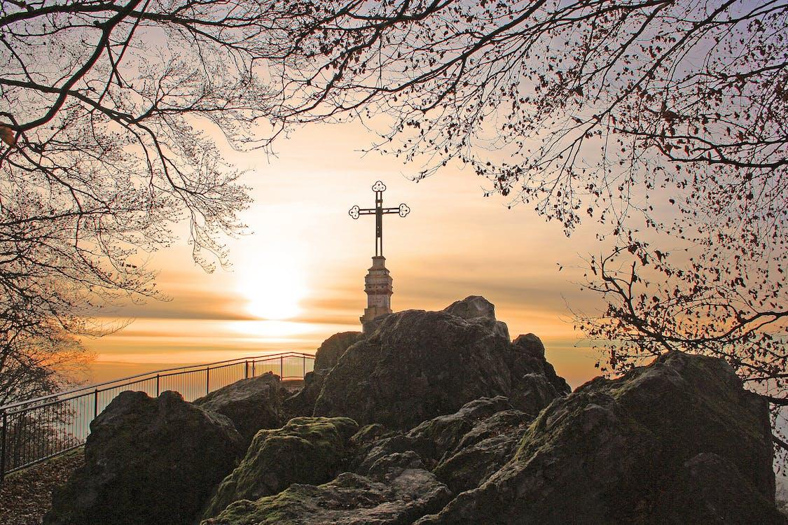 Cross on Top of Rock