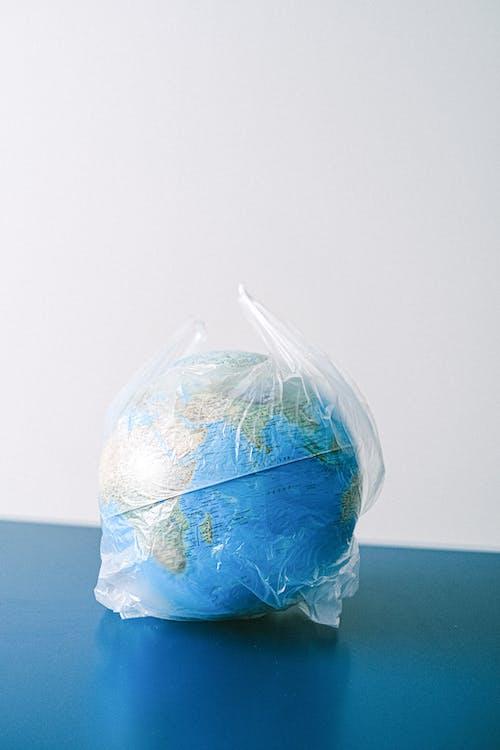 A Globe in a Plastic Bag