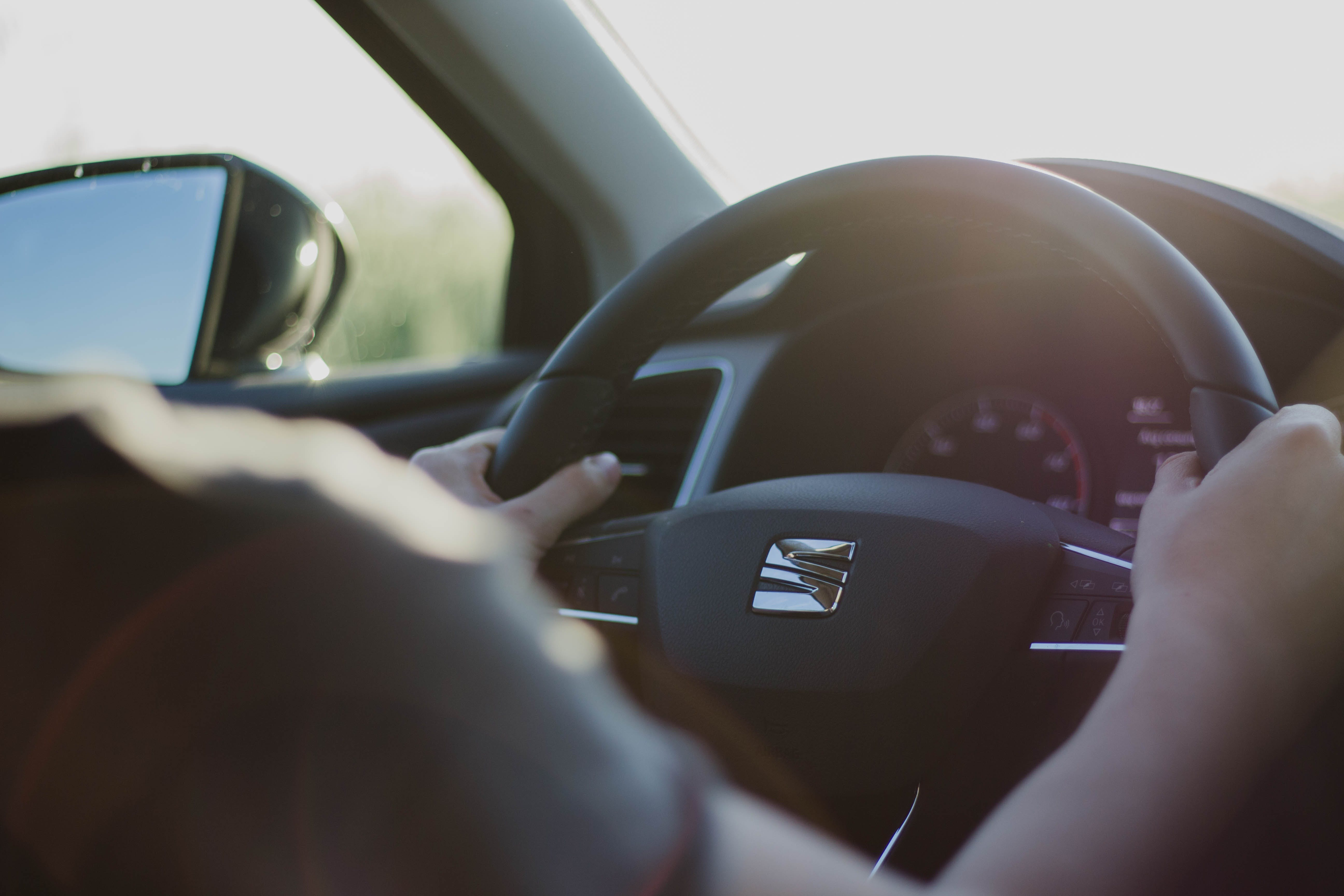 Free stock photo of adult, car, driver, driving