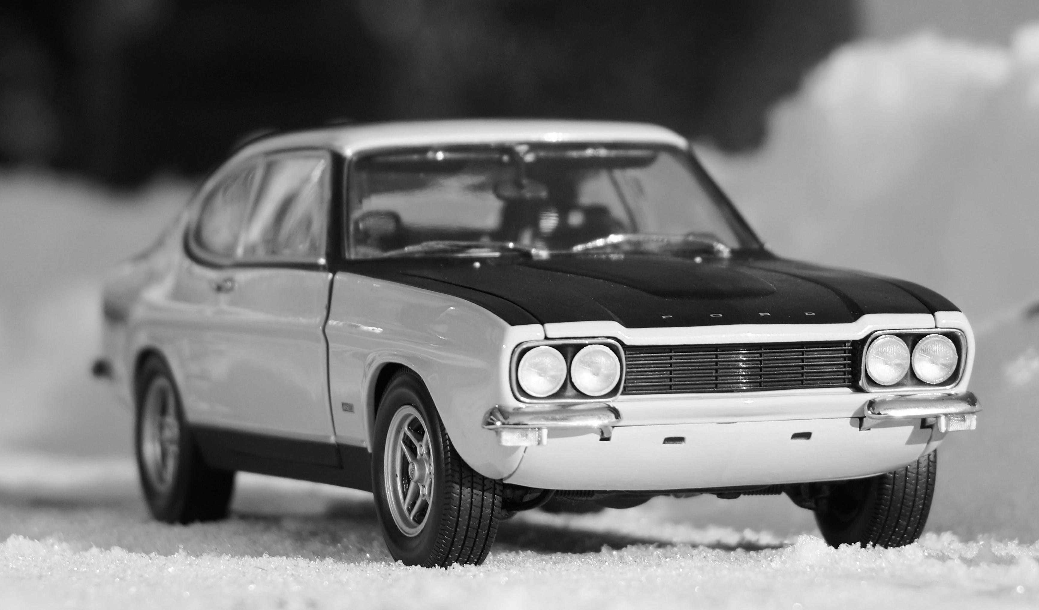 Free stock photo of snow, vehicles, model, oldtimer