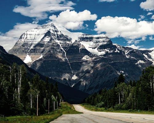 Fotobanka sbezplatnými fotkami na tému cesta, denné svetlo, hora, horský vrchol