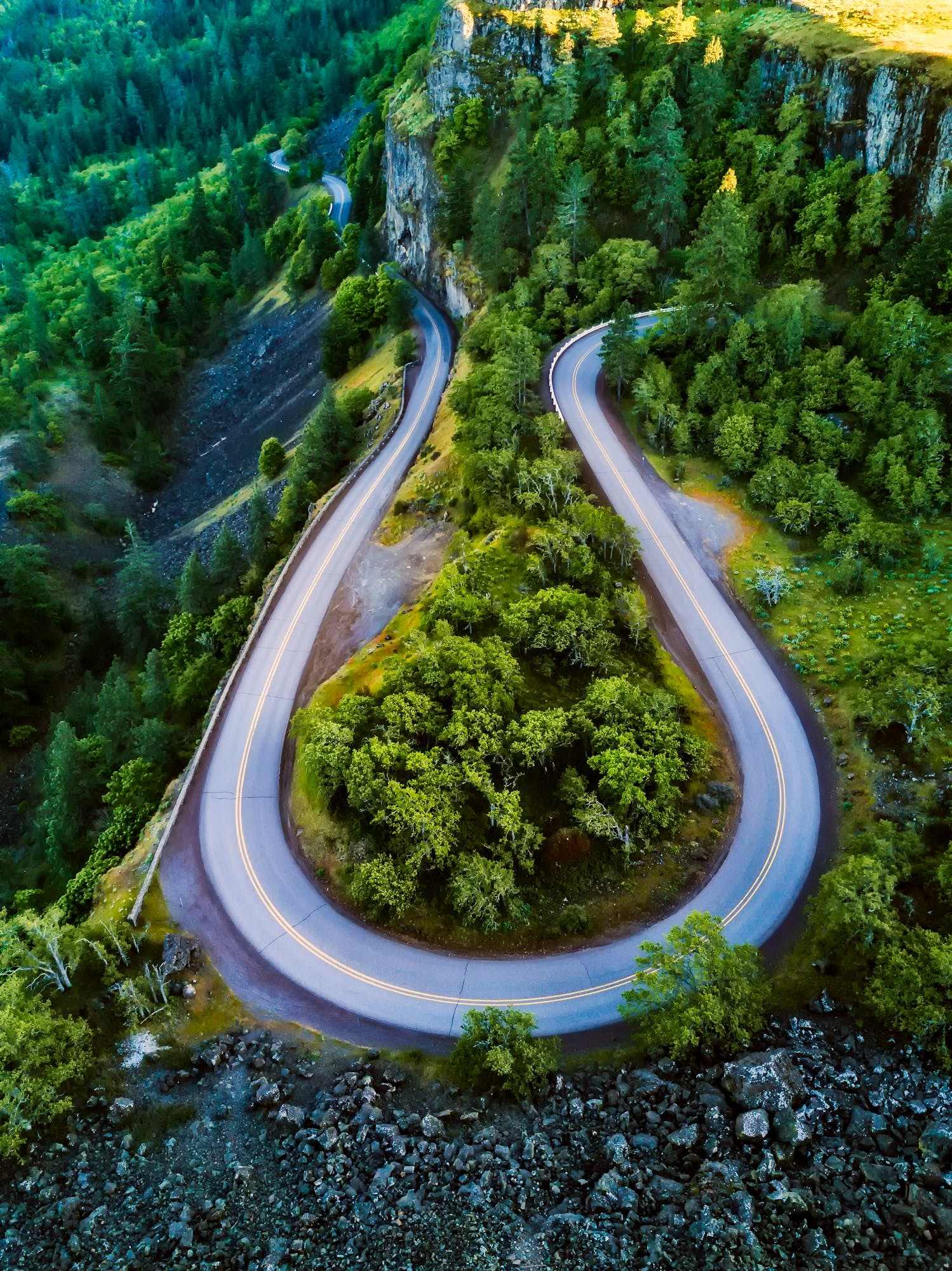 Free stock photo of aerial view, country, forest, hdr