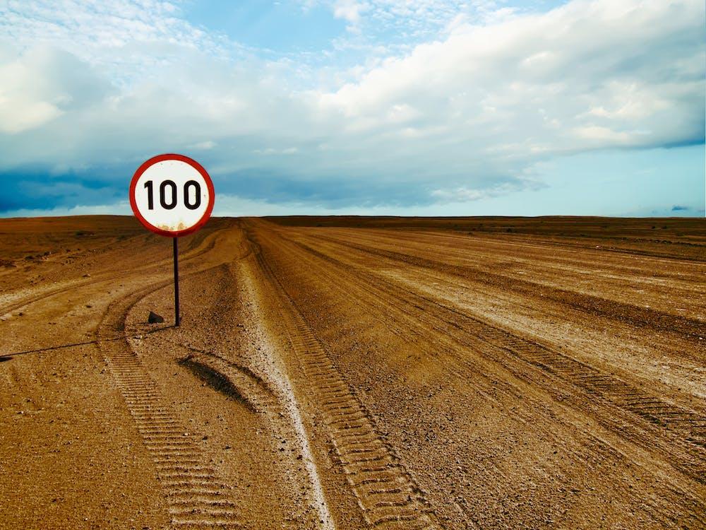 100 Speed Limited in Barren Area