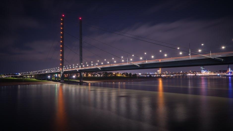 New free stock photo of lights, night, water