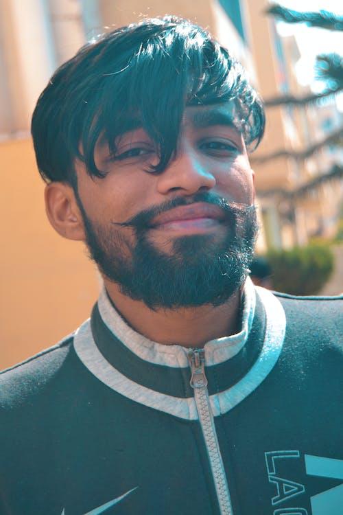 Free stock photo of backgrounds, beard, beard cut