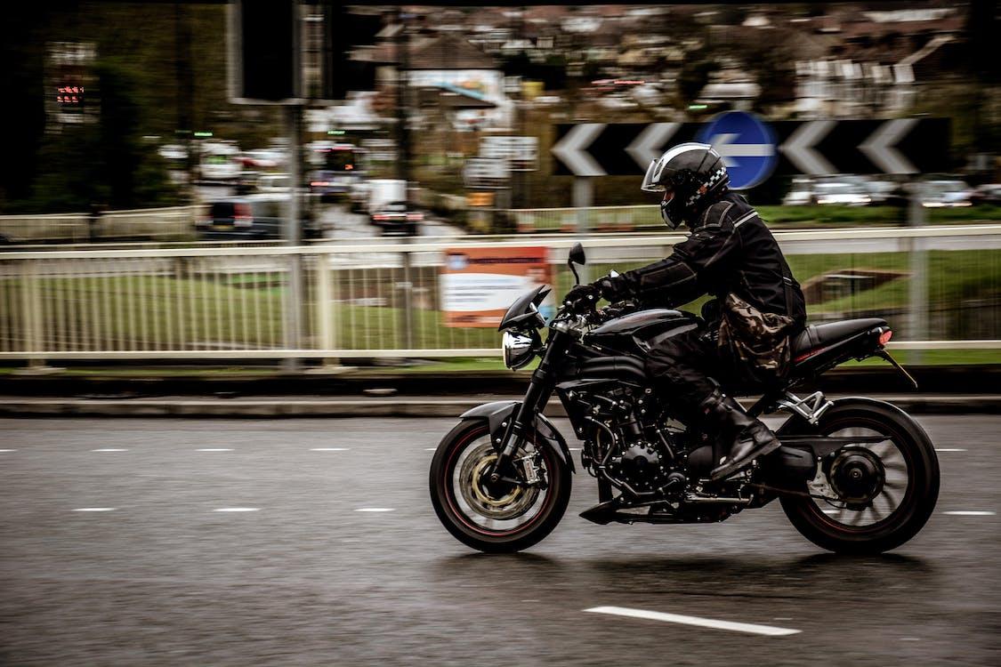 アクション, オートバイ, おとこ