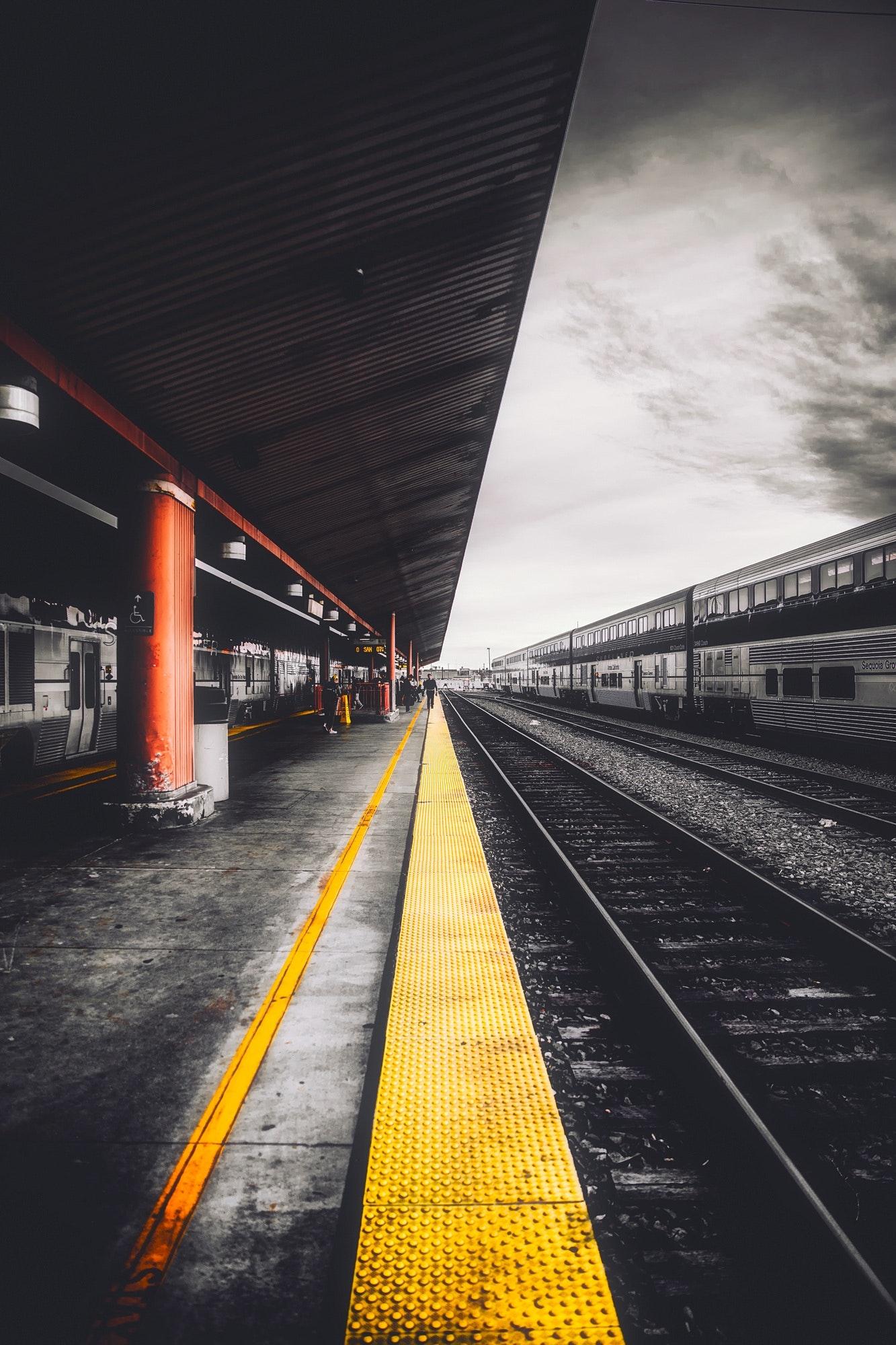 Train Tracks 183 Free Stock Photo