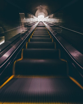 Free stock photo of light, dark, steps, blur